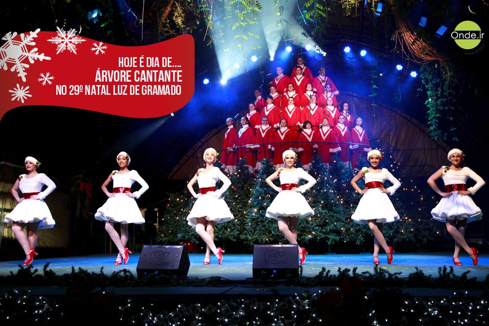 Hoje é dia de #ÁrvoreCantante na programação oficial do #NatalLuzdeGramado!  Veja mais sobre o espetáculo no site!  http://www.onde.ir/evento/arvore-cantante-29-natal-luz/448 #NatalLuz #NatalEmGramado #Natal2014 #SerraGaúcha #Gramado  Foto: Carlos Alberto Maciel Borges