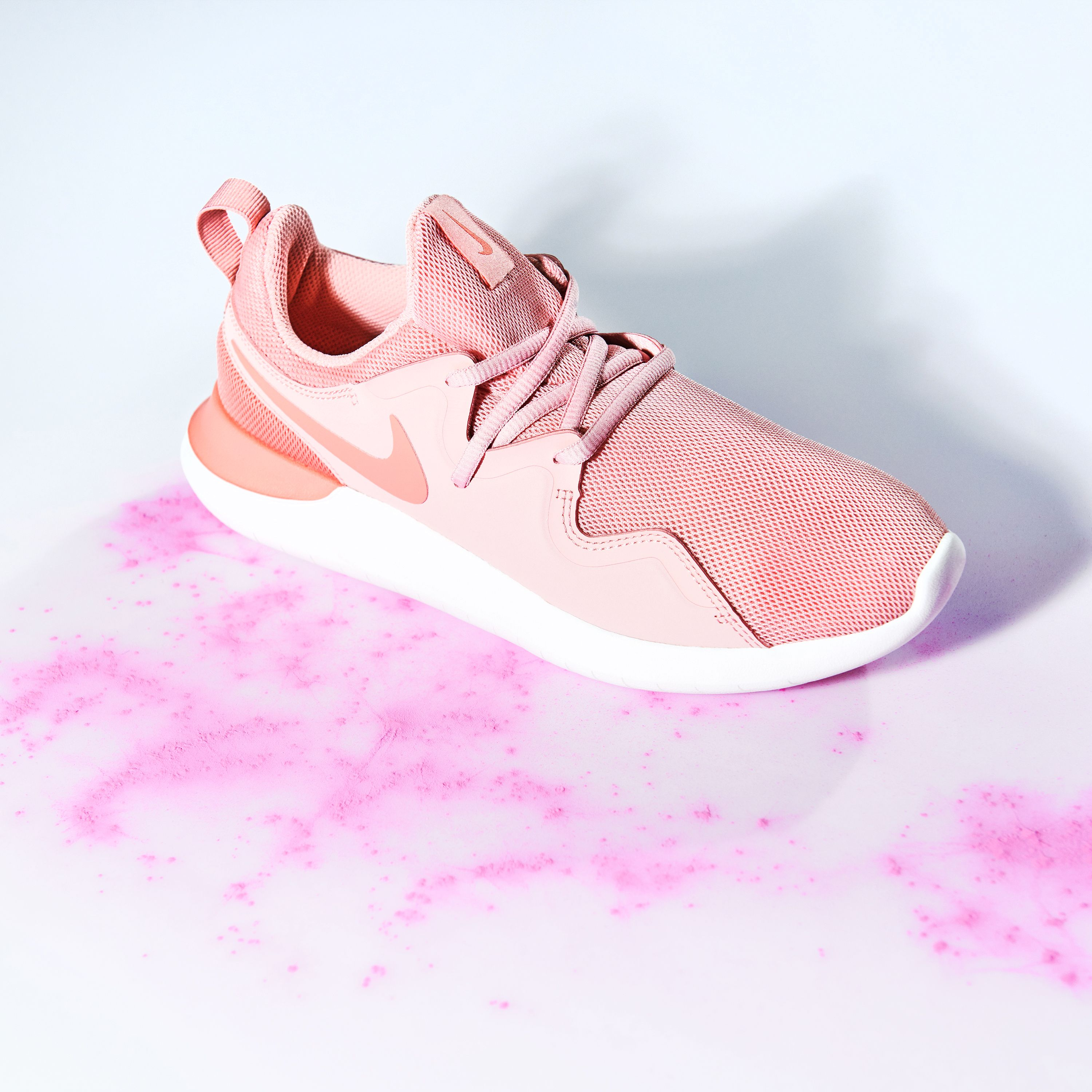 Feel pretty in pink with the Nike Tessen trainers  d9764b68e