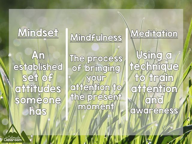 Mindfulness in My Classroom A 6th Grade Teacher's Story