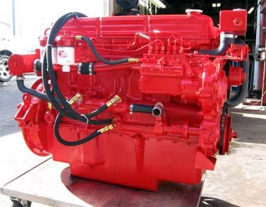 Ford Lehman diesel engines are remanufactured in our shop