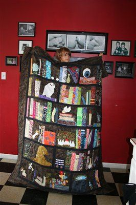 Harry Potter quilt (a Paper piecing group project) - Quilters Club ... : quilt club of america - Adamdwight.com