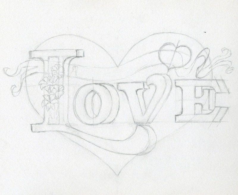 learn to draw a heart very inspiring in 2019 hand lettering