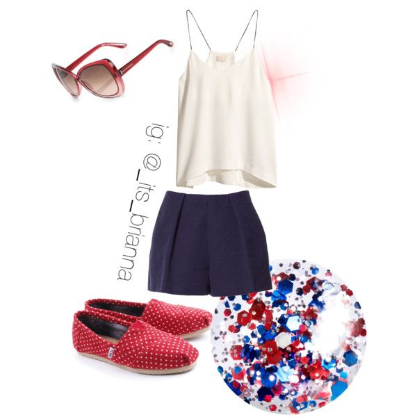 Dressy July 4th Outfit Idea ❤