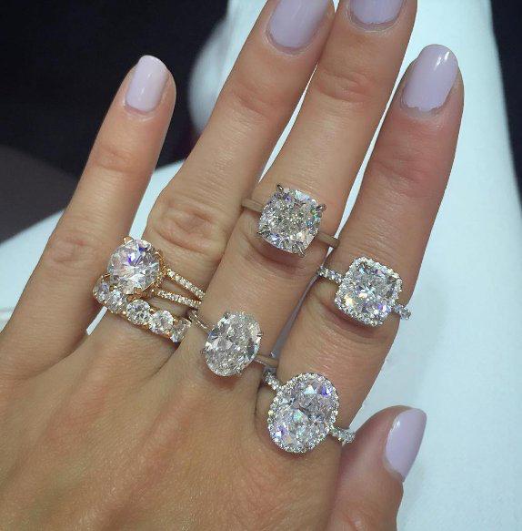 Wedding Ring Costs: Pin De Lorena Solis En Anillos..