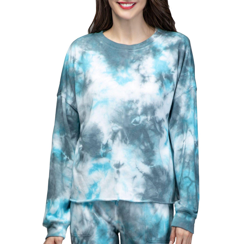 Green Tea Women S Tie Dye Sweatshirt Sam S Club Tie Dye Sweatshirt Womens Tie Women [ 1500 x 1500 Pixel ]