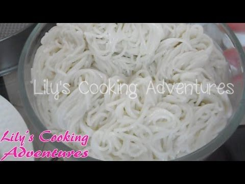 How to make fresh rice vermicelli noodles