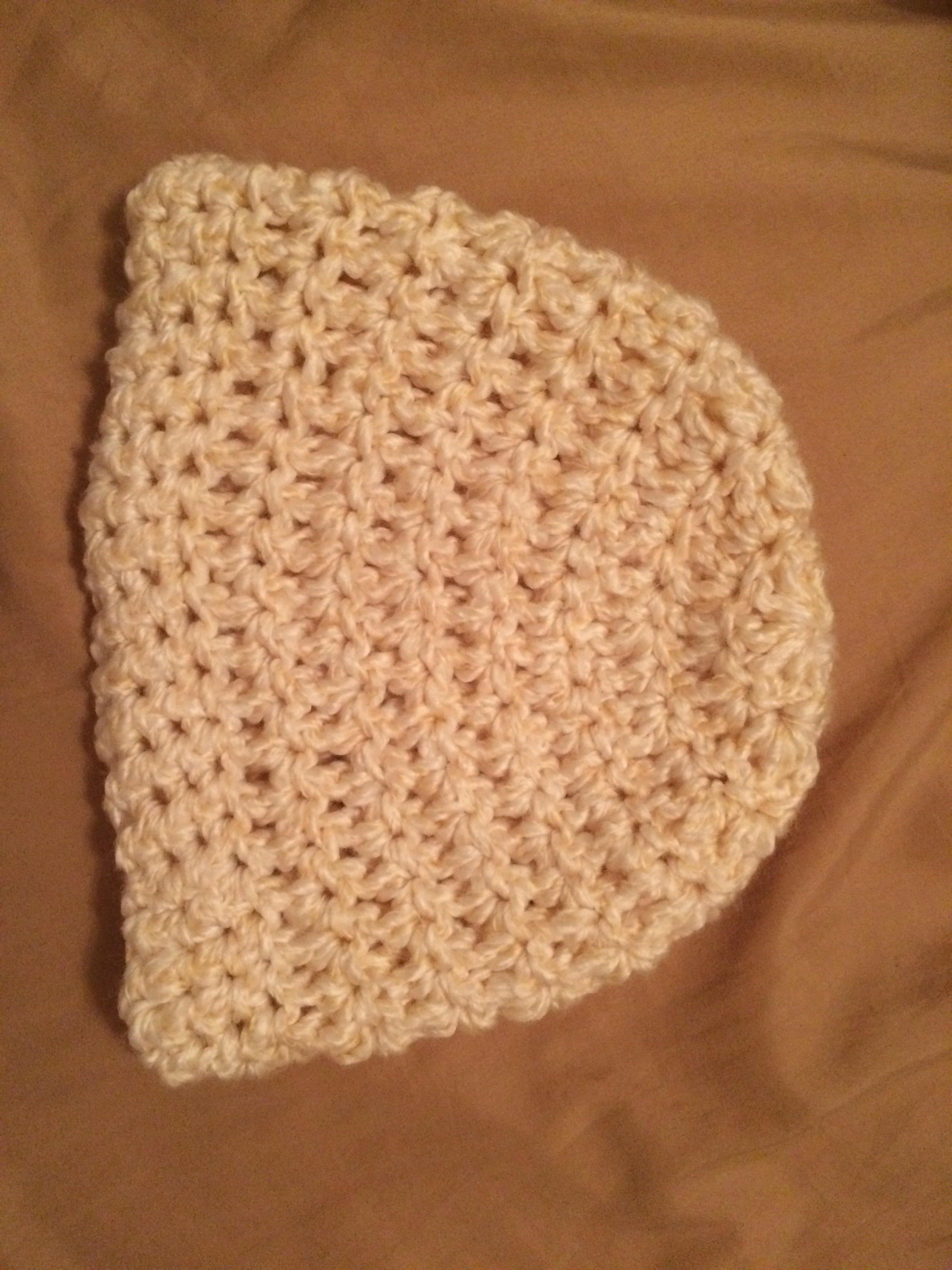 Women's chunky crochet hat http://rescuedpaw.com/post/93968178273/crochet-chunky-flower-button-hat-pattern#.U-LwjIBdWP5