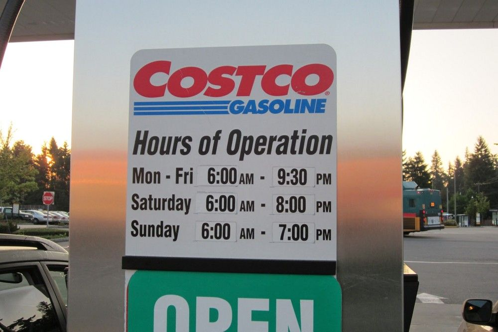 Costco Hours Di 2020