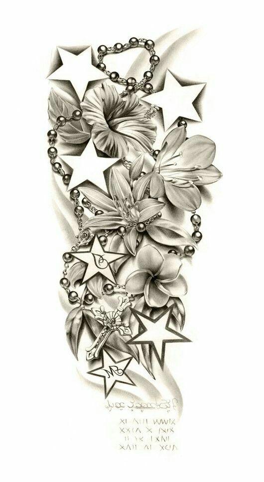 Paternoster Star Sleeve Tattoo Tattoos Sleeve Tattoos