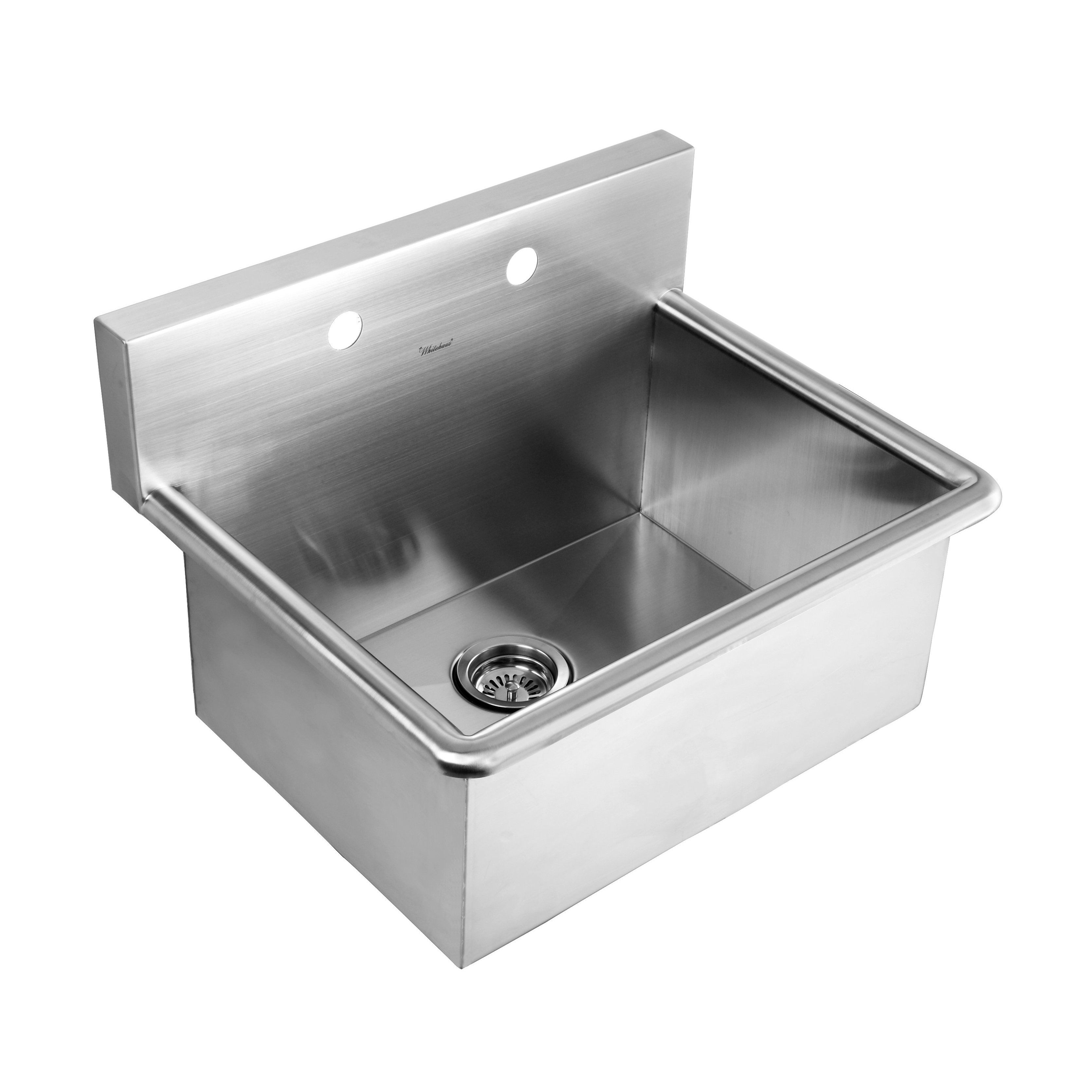 Wall Hung Utility Sink.Whitehaus Noah S Collection Drop In Or Wall Mount Utility