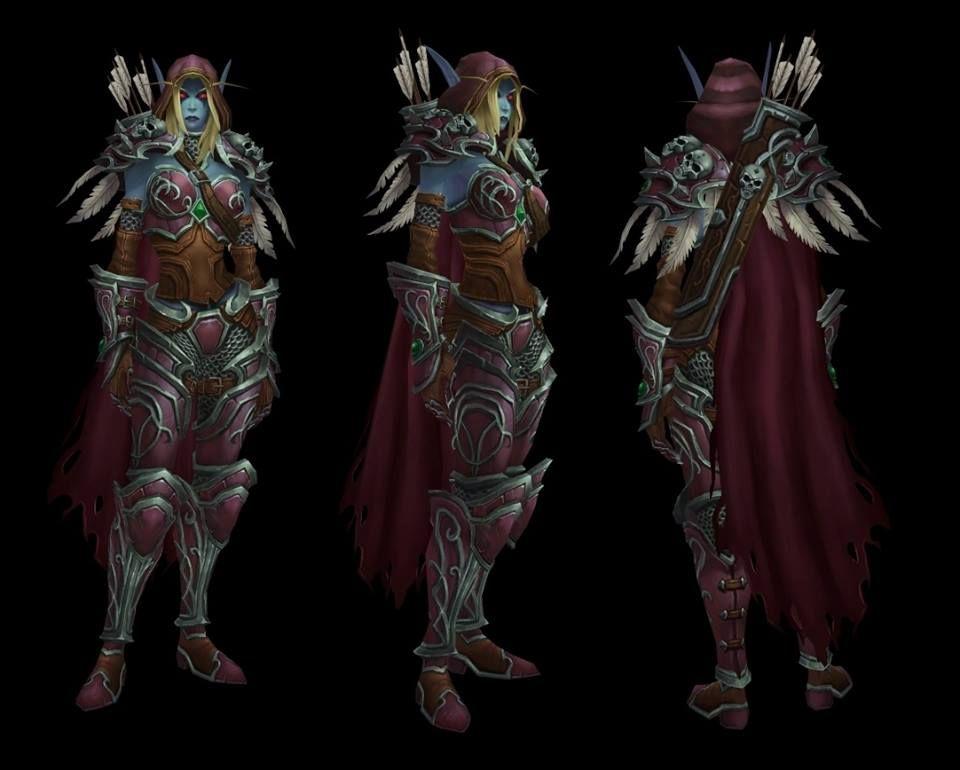 Sylvanas new model | world of warcraft | Death knight, Demon