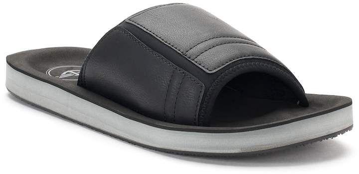 Men S Dockers Elevated Stretch Slide Sandals Mens Slide Sandals Sandals Slide Sandals