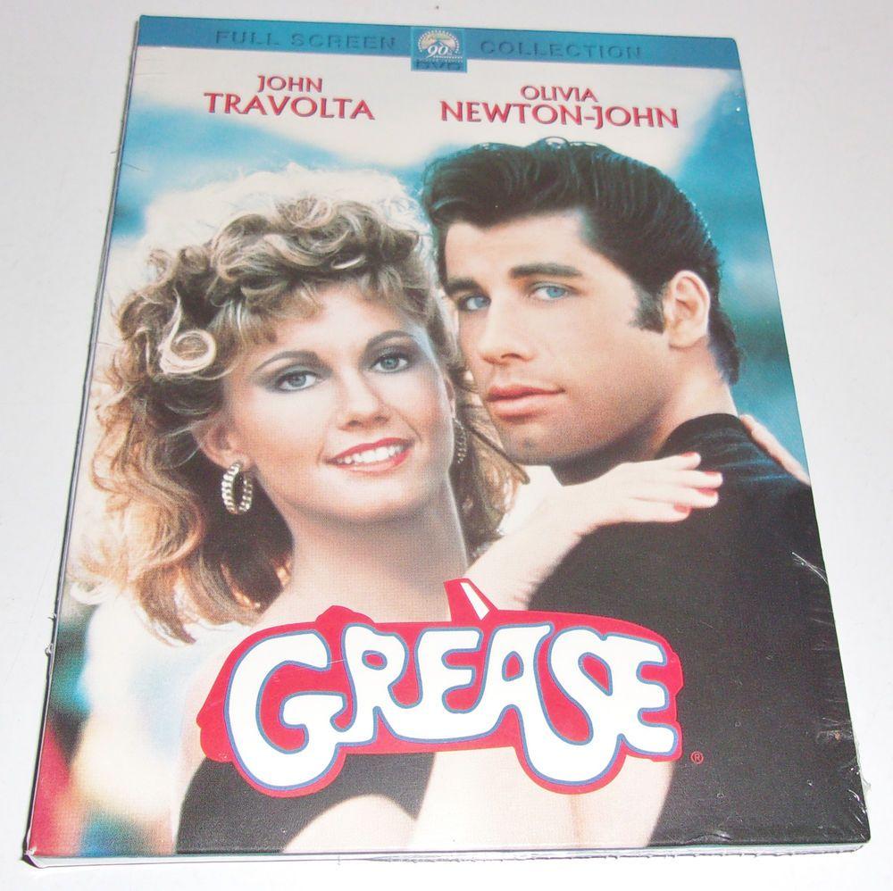 Grease dvd 2002 full frame new olivia newton john travolta