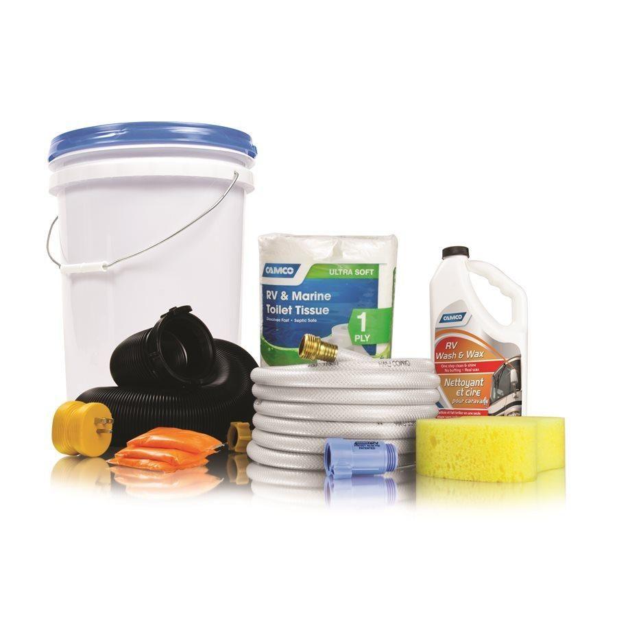Camco starter kit bucket iii starter kit cleaning kit