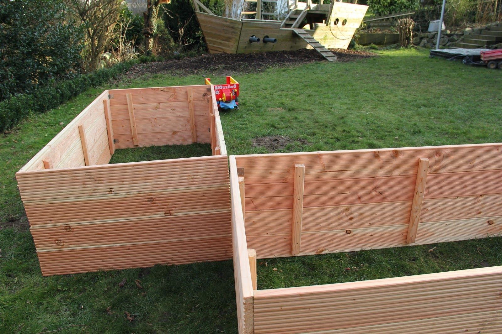hochbeet bauanleitung raised bed building instructions t. Black Bedroom Furniture Sets. Home Design Ideas