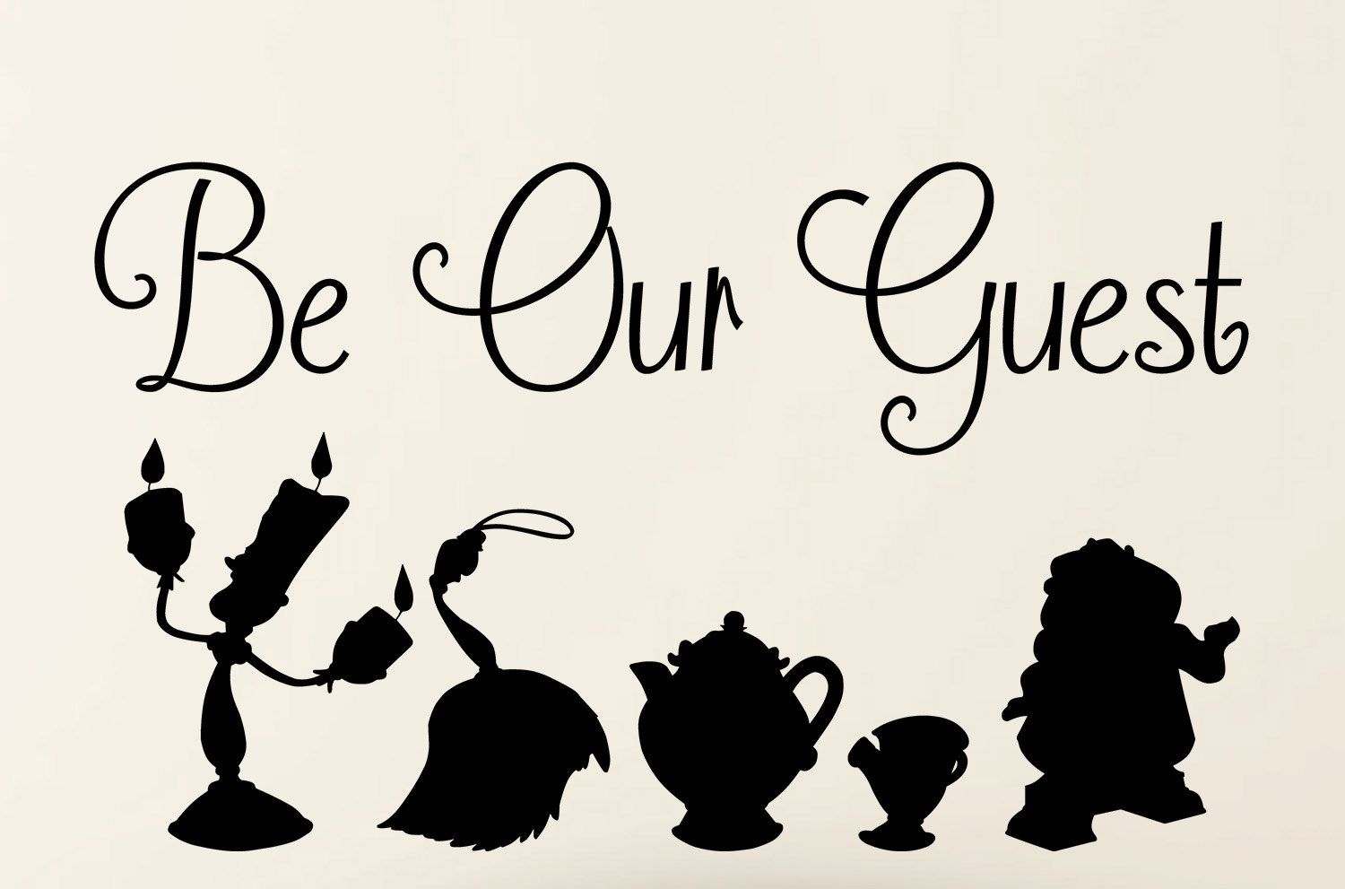 Disney - Be Our Guest (Beauty And The Beast Lyrics