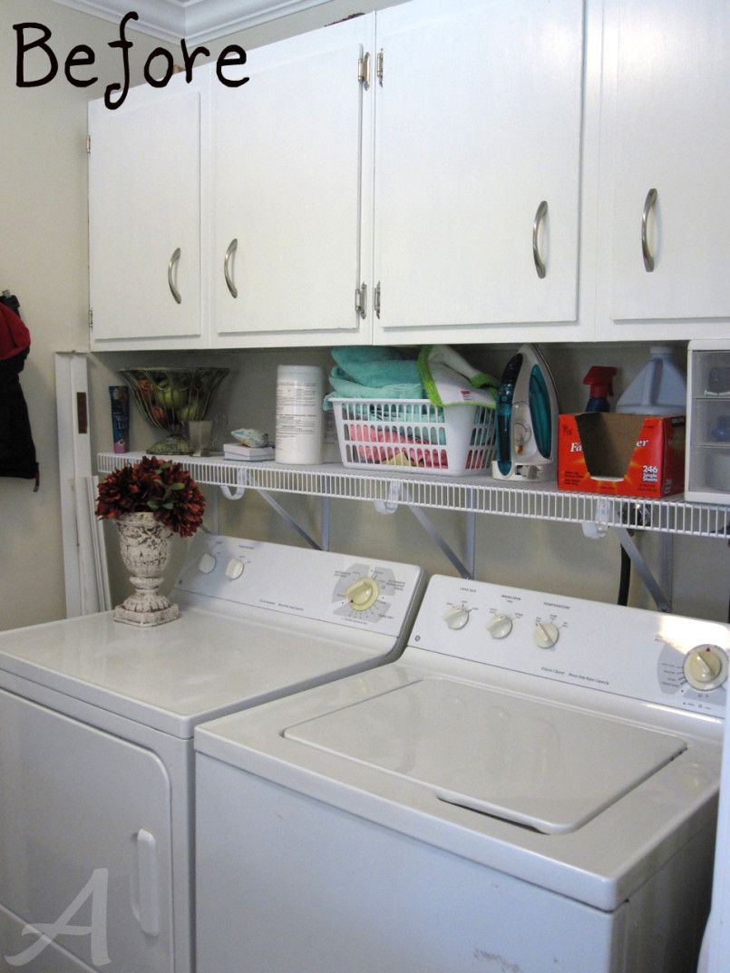 Getting Organized: The Laundry Room {tips and tricks | Laundry room ...