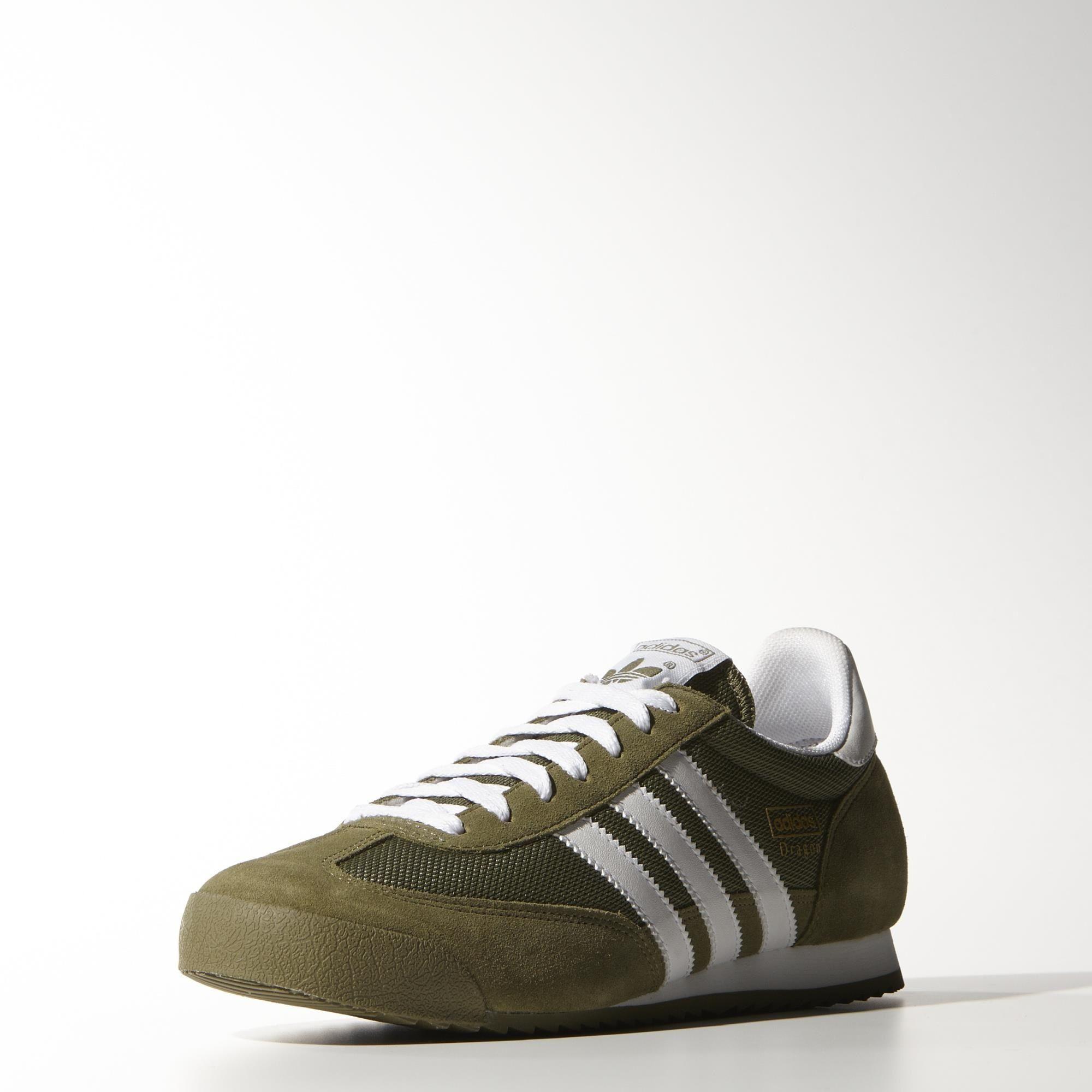 adidas Dragon Shoes - Olive Cargo | adidas UK