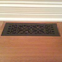 Flush Mounted Metal Floor Grille Metal Floor Decorative Vent