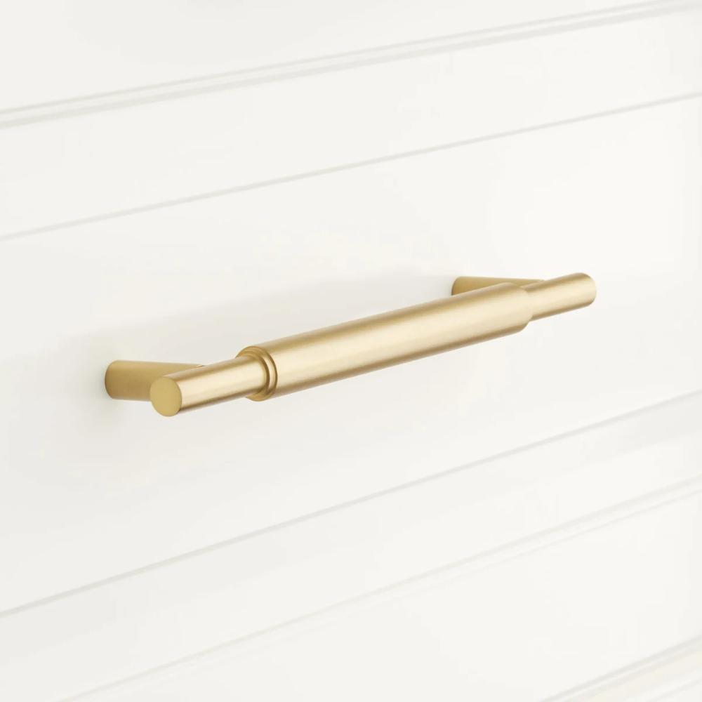 Signature Hardware 945973 4 Brass Cabinet Pulls Cabinet Pull