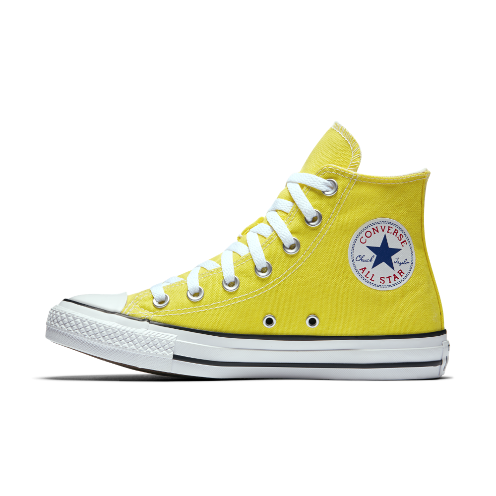 Converse Chuck Taylor All Star Seasonal Colors High Top Shoe Size 10.5 ( Yellow) - Clearance Sale c7f167fcb