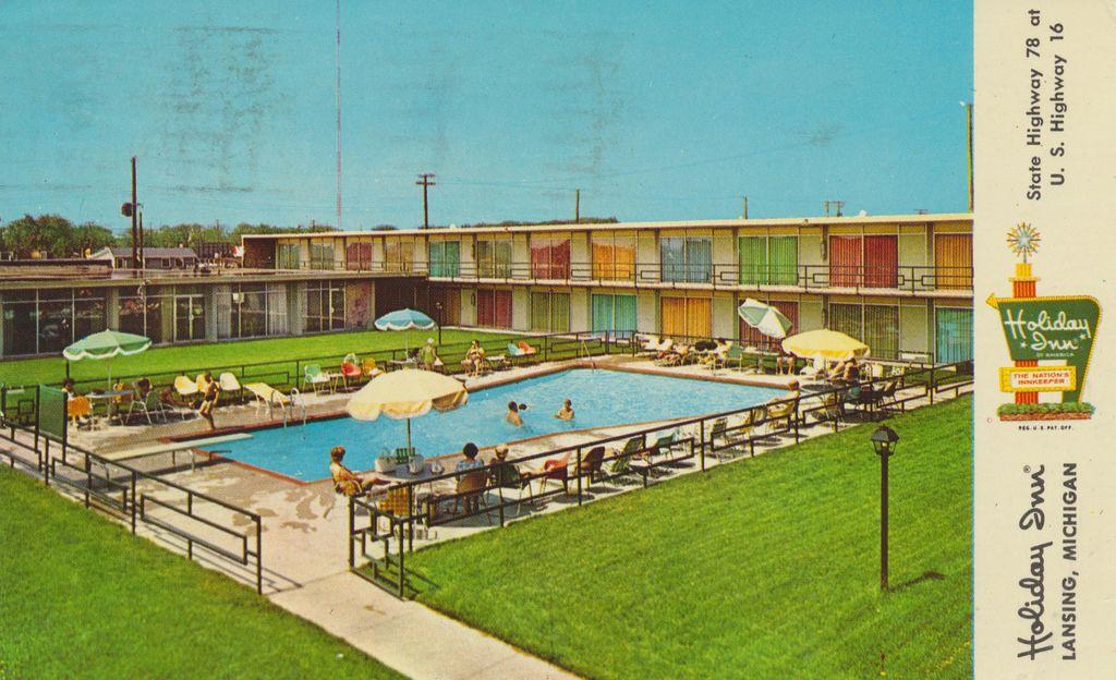 Holiday Inn - Lansing, Michigan State Hwy. 78 at U.S. Hwy. 16 3121 E. Grand River Road