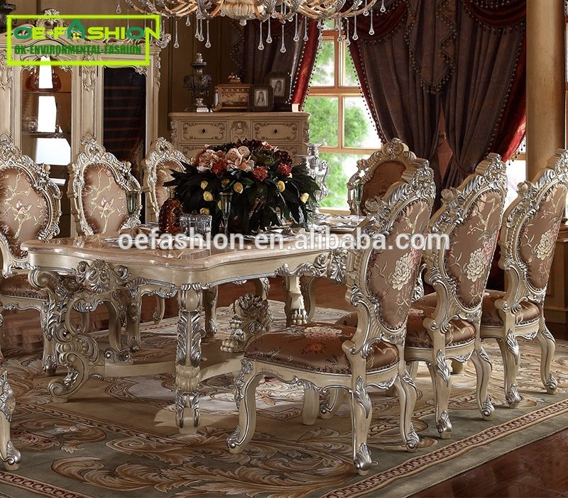 Fashion Rococo Style Wood Carving Dining Table Design For Home View Alibaba Oe Product Details From Foshan Furniture Co