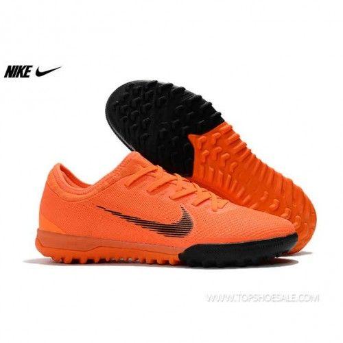 ff74f5872 2018 FIFA World Cup Nike Mercurial VaporX XII Pro TF AH7388-810 Black Total  Orange White Football shoes