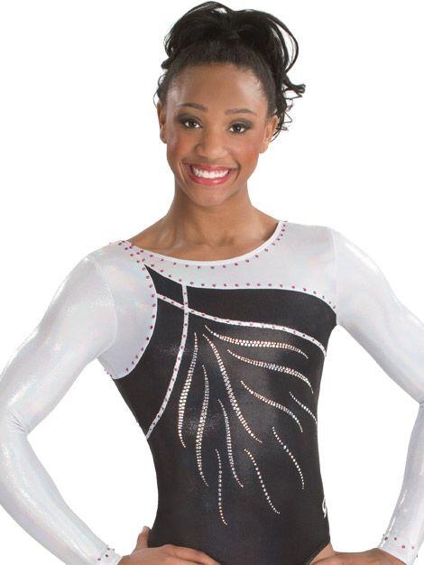 80aec0b00d41 Long Sleeve Gymnastics Leotards, Elite Gymnastics, Gymnastics Competition  Leotards, Gymnastics Clubs, Gym