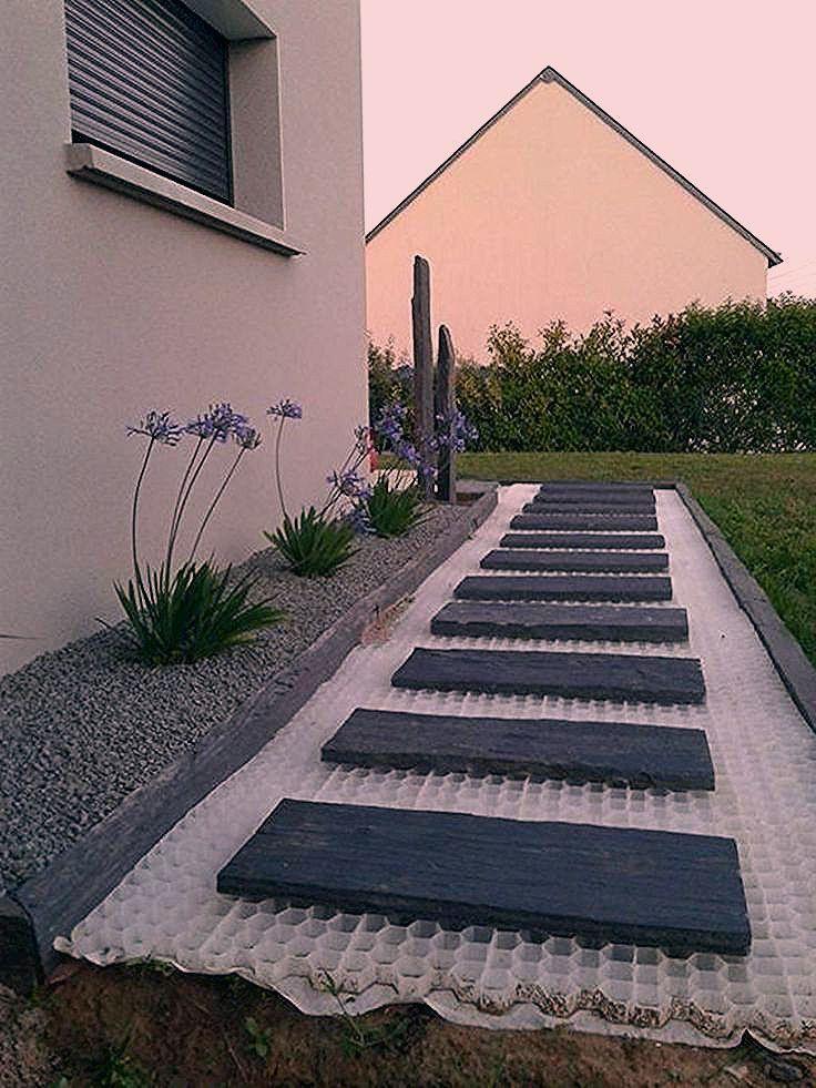 Photo of 80 Erschwingliches Gartenweg- und Gehwegdesign für Ihren fantastischen Garten – My Blog