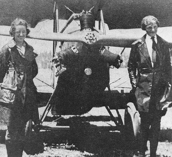 "Her teacher was Anita ""Neta"" Snook, a pioneer female aviator who used a surplus Curtiss ""Canuck"" for training."