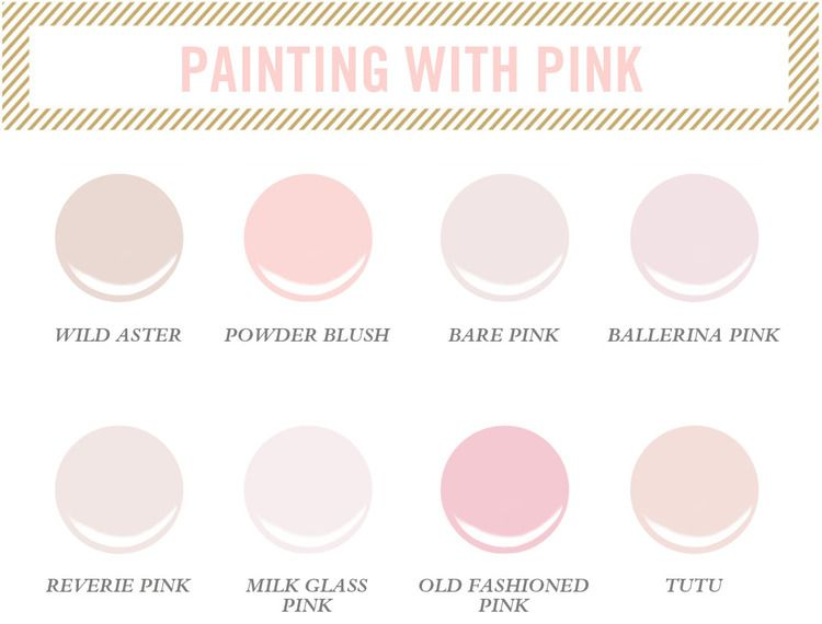 Pink Paint Colors For Little S Room