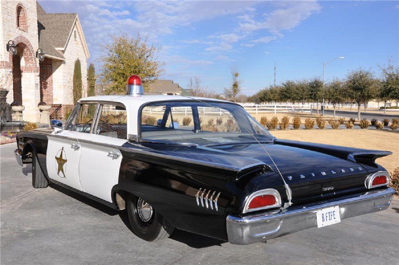 1956 ford customline wagon old car hunt - 1960 Ford Fairlane 500 Sedan 4 Doors Sheriff Patrol Car Etats Unis D