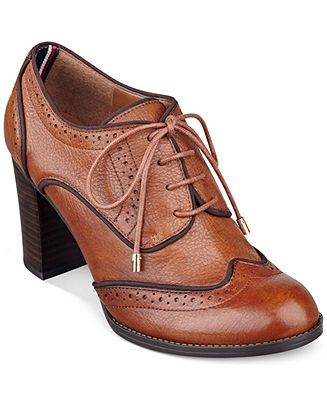 3f1b4efbdd27e Tommy Hilfiger Women s Fabiole Oxford Shooties - Tommy Hilfiger - Shoes -  Macy s