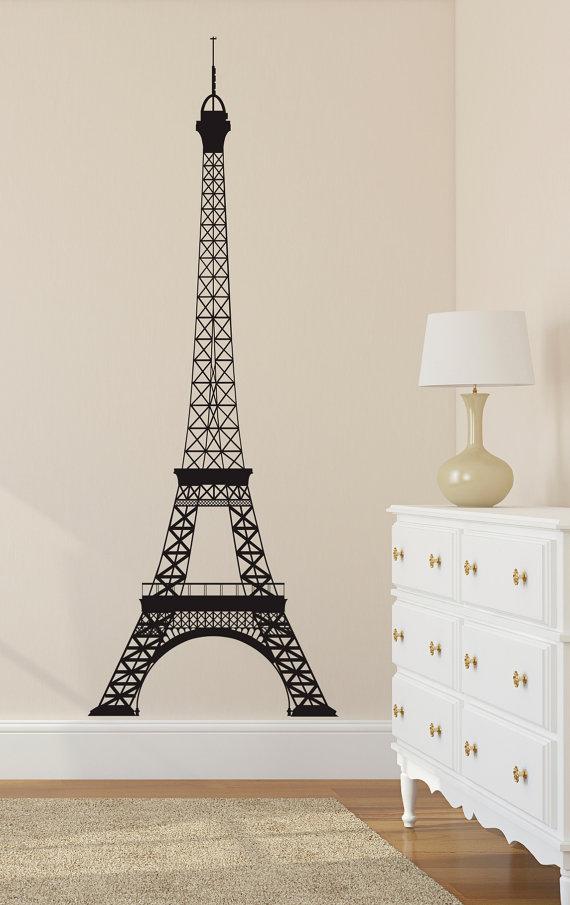 Eiffel Tower Wall Decal Paris