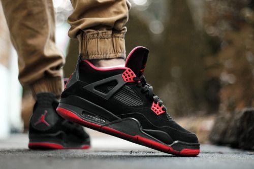 http://SneakersCartel.com sweetsoles: Nike Air Jordan IV Custom (by…