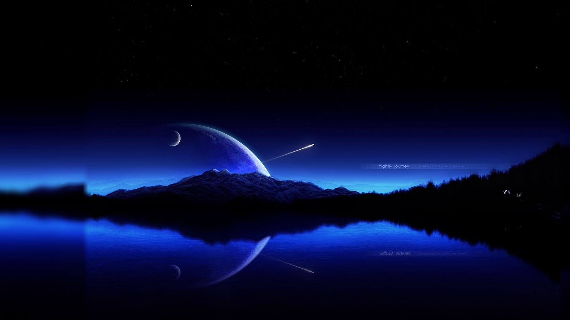 Download Wallpaper For Pc In Hd | Images Wallpapers | Night sky wallpaper, Sky moon, Hd wallpaper