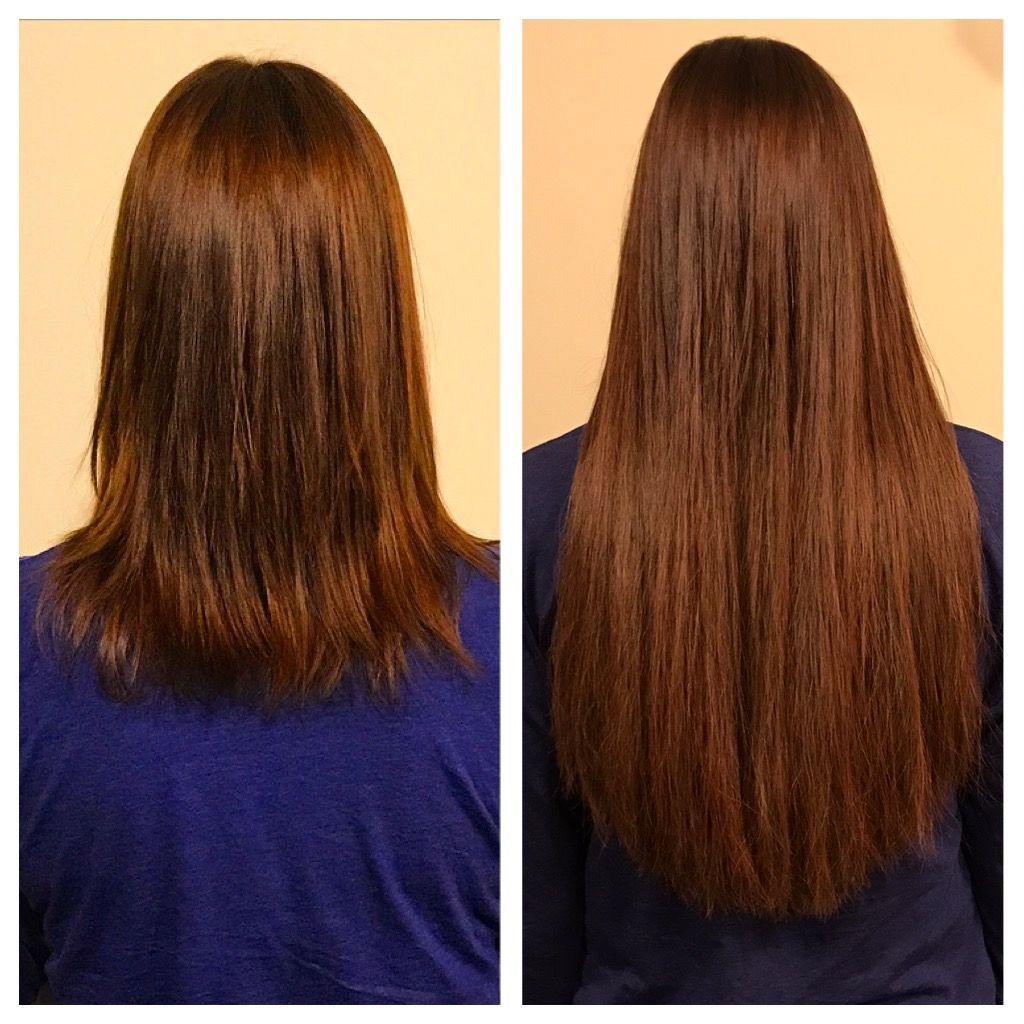Great Lengths Keratin Bonded Extensions Make This Ginger Exquisite