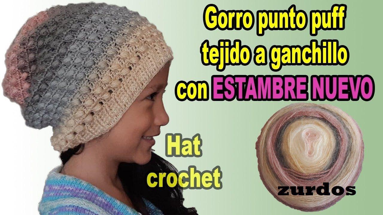 gorro a crochet - en todas las tallas - para hombre y mujer  691f71f41c6