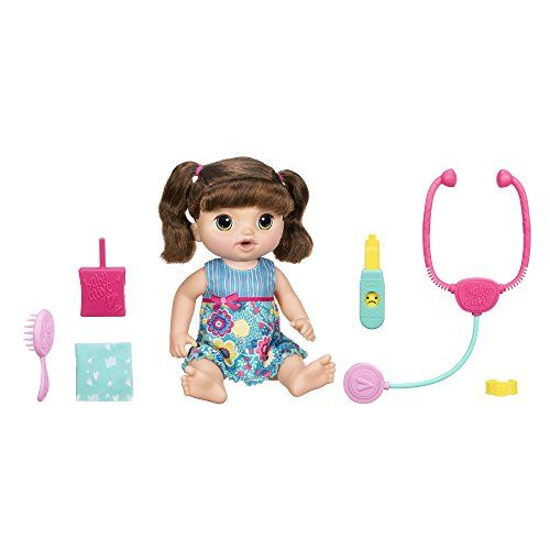 Baby Alive Sweet Tears Baby Brunette Dolls For 2 Year Old Girls