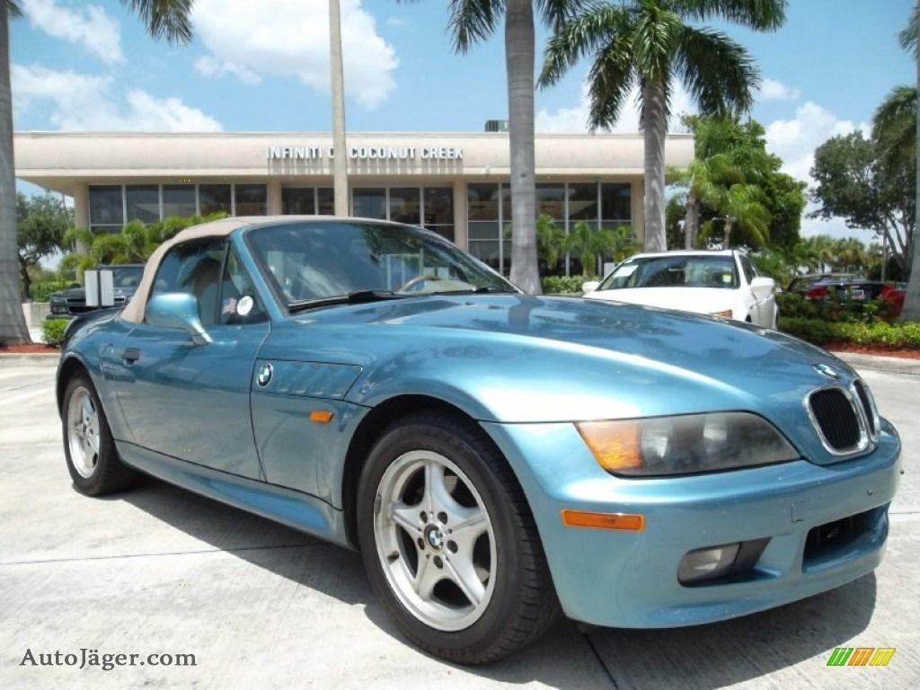 1998 Bmw Z3 1 9 Roadster In Atlanta Blue Metallic D16865 Auto Jäger German Cars For Sale In The Us Bmw Z3 Bmw Bmw Cars
