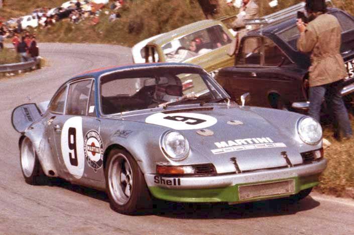 Targa Florio n.9 Porsche 911 Carrera RSR, Leo Kinnunen - Claude Haldi, Sport Gr.5, cl.3000, 3°ass