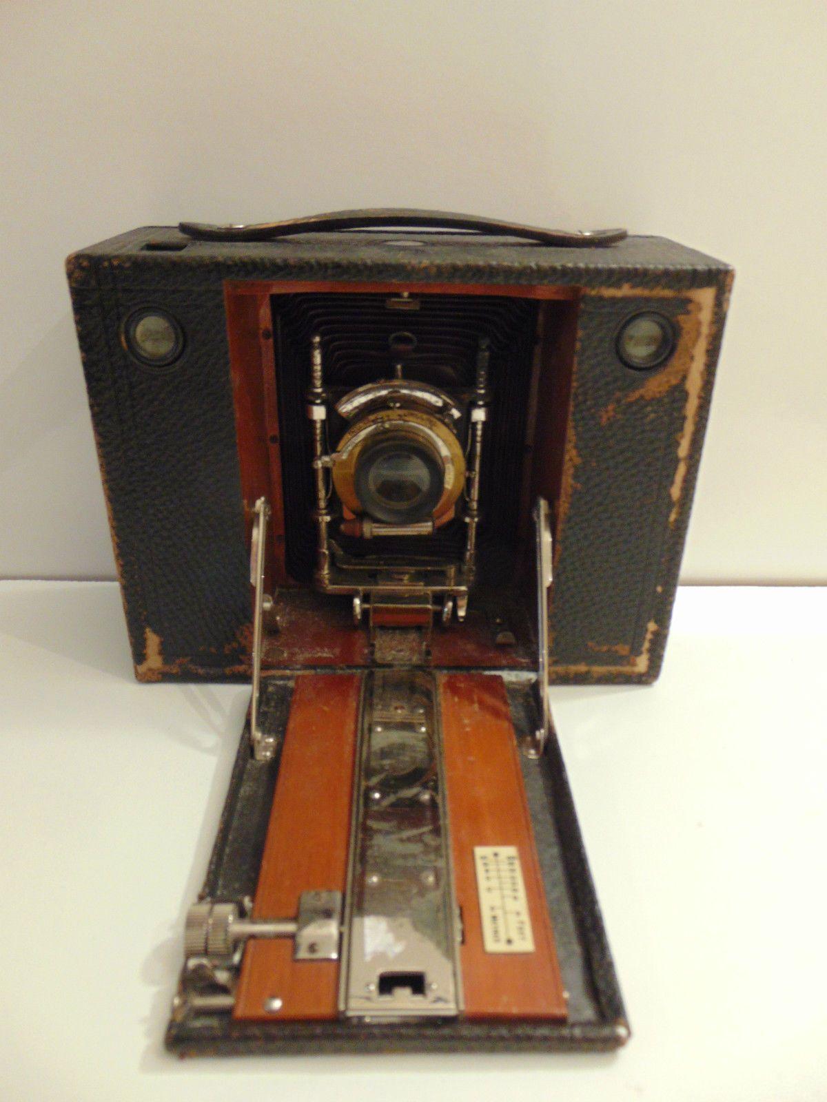 Ancien appareil photo Kodak n4 Cartridge  soufflet Rochester USA Eastman Kodak  Photographic