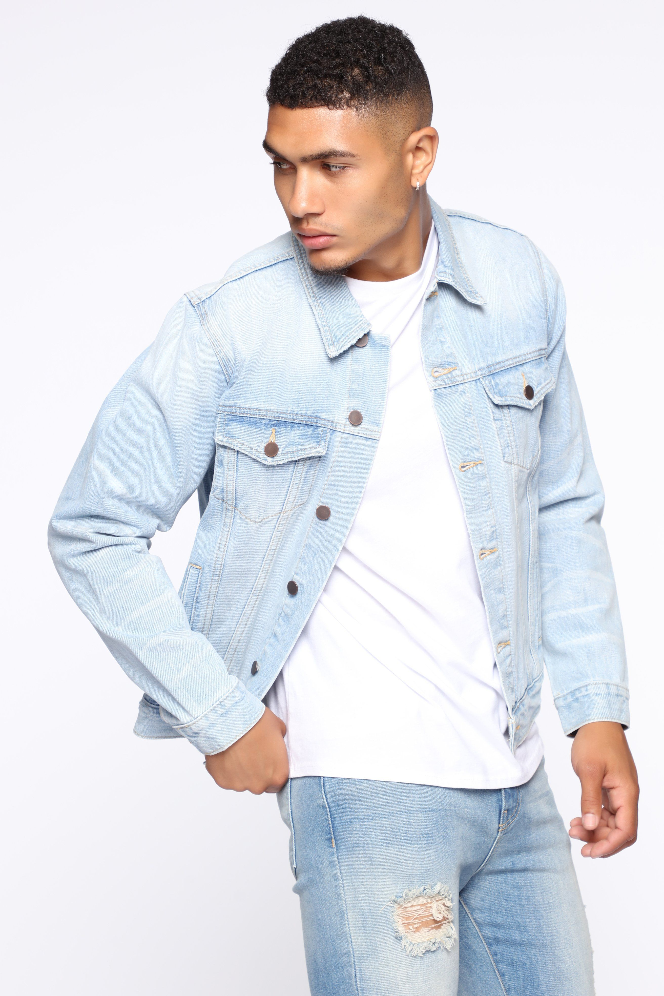 Haywood Jean Jacket Vintagebluewash In 2021 Fashion Jackets Jean Jacket Men [ 3936 x 2624 Pixel ]