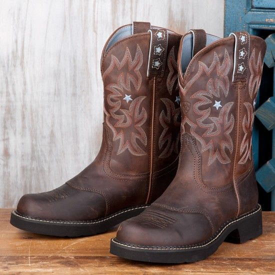 Ariat Ladies' Driftwood Brown ProBaby Boots. Love!! | My Style ...