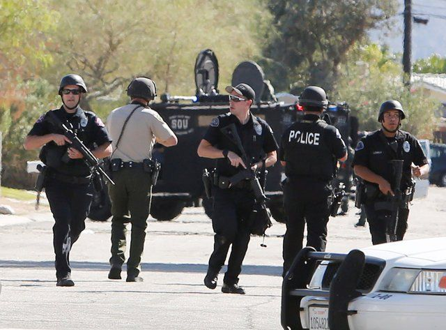 California Shooting Suspect Arrested Business Insider Peace Officer Police Officer Police