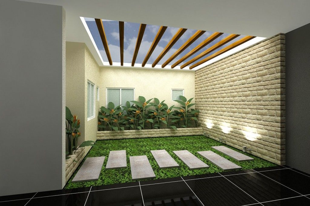 Indoor garden modern indoor garden design for living for Indoor nature design challenge