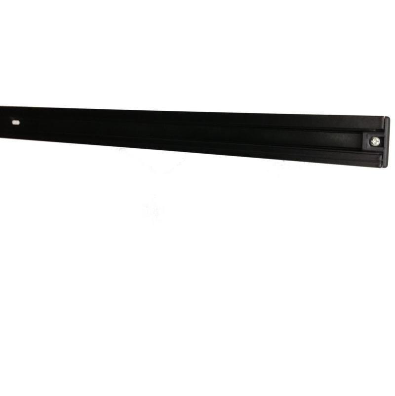 Rail monophas/é 1m Noir