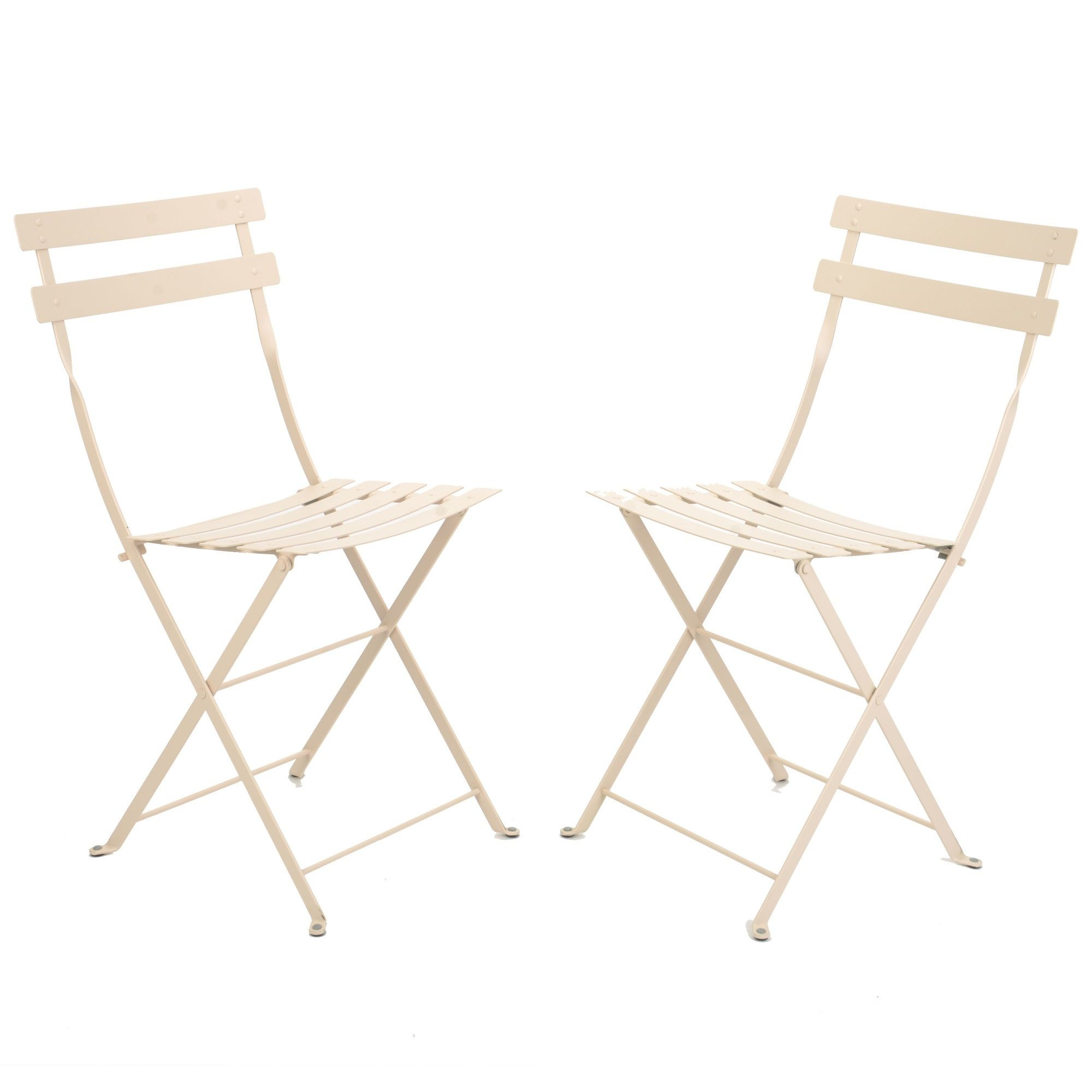 Fermob Bistro Metal Chair Set of 2 from French Bistro Furniture