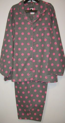 Womens Plus Size 2x 3x 4x Gray Pink Winter Flannel Pajamas Joe Boxer Sleepwear Ebay Pajamas Women Clothes Fashion
